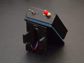 JR type LRS mount for FrSky Taranis radio