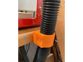 vacuum cleaner hose (40mm) desk/wall mount