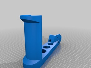 2040 spool holder (for Prusa Bear), mirrow