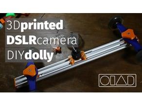 DSLR Camera Dolly V-slot extrusion