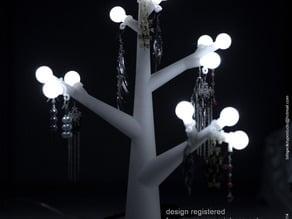 Table Lamp/Jewellery Tree Lamp