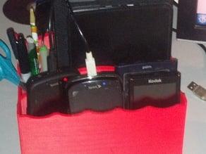 Desktop Portable Electronics Organizer