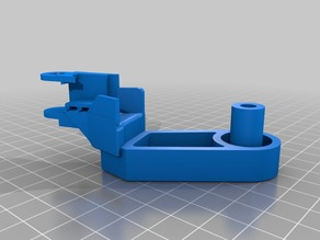 strain relief with bed spacer for sensors