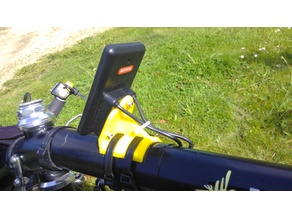Screen stand for recumbent e-bike