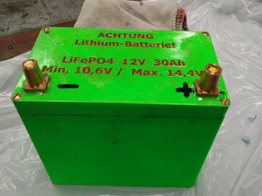 Lithium Battery Case for 26650