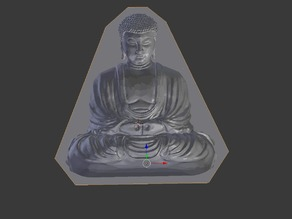 Buddha Optical Illusion Mould Stand