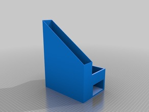 paper post-it and penholder
