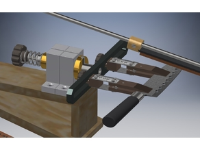 The sharpening machine for knives with the rotary mechanism (THE MILLING MACHINE)