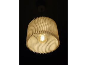 White Wave - Lampshade - Lampenschirm