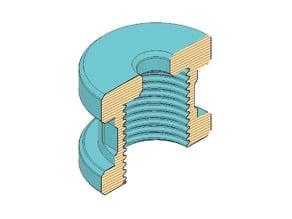 V6 bowden adapter ( titan / bmg )