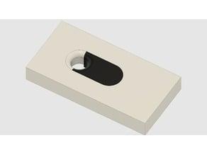 Ikea Skadis Pegboard lock pin