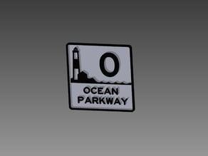 Ocean Parkway Sign