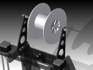 Prusa Air 2 filament spool holder