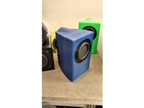 "Speaker Enclosure for Tectonic Elements 3-1/2"" BMR"