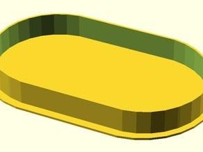 Flat Desk Grommet Cover