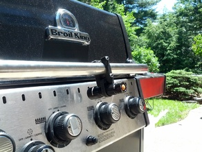 BBQ Flashlight Holder