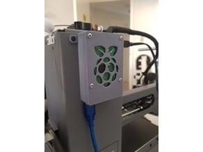 Raspberry Pi 3B mount for Wanhao Duplicator i3 Mini / Cocoon Create Model Maker