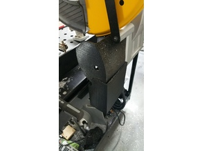 Chop Saw Chip Collector for Dewalt DW872