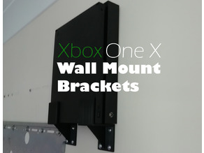 XBox One X - Wall Mount Brackets