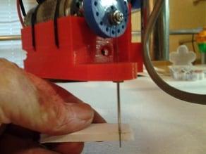 MPCNC foam-cutter attachment