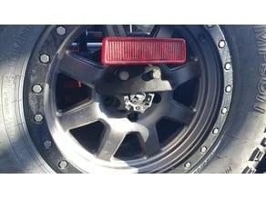 Jeep License Plate Relo Bracket for TeraFlex Mopar HD Tire Carriers