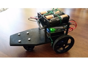 Adafruit Feather Rover chasis and top
