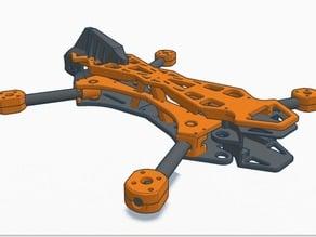Dual Switch Blade (Foldable)- Quadcopter V1.0