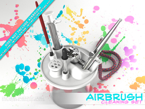 AirBrush cleaner set