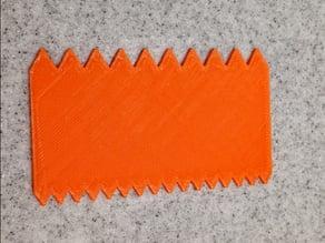 Thinset Mortar Glue Spreader