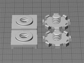 Replicator 2 Build Plate Stabilzers