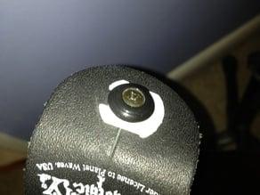Guitar strap clip