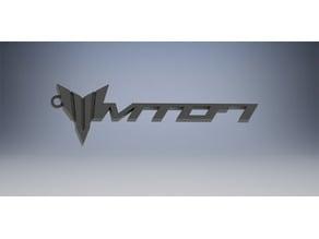 Yamaha FZ-07 / MT-07 Logo Motorcycle Keychain