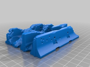 Jersey Barrier terrain set