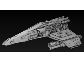 SW The miniature game E-Wing