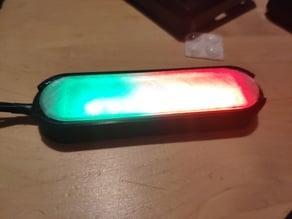 mount led neopixel stick