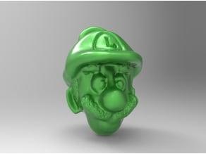Luigi key chain
