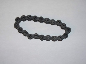 Bicycle Style Chain