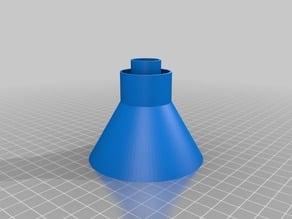 Funnel for PET bottle