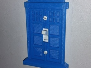 Tardis Light Switch