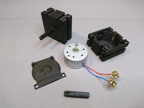 fischertechnik solar motor enclosure