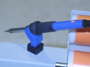 Soldering Iron Holder With Magnetic Base Stand