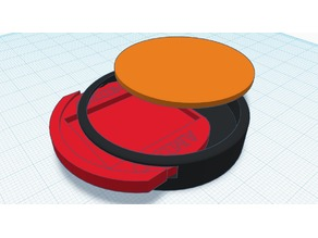Amiibo Base SD Card Holder
