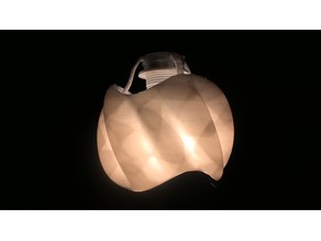Twisted CosSin Lamp Shade