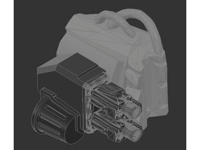 Wrist mounted Twin linked guns for Dominion Crusader Mk3
