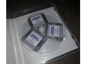GameCube Memory Card Insert for DVD/Game Case