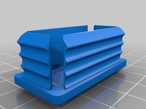 My Customized custom plug/cap for square or rectangular tube