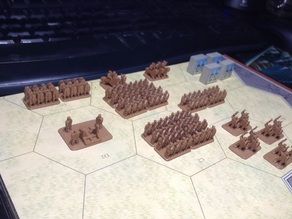 Command and Colors: Ancients Board Game Miniatures