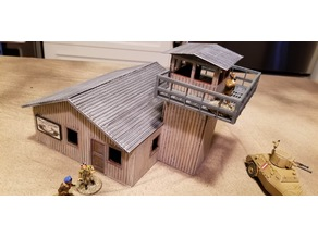 Forward Airfield Control Tower - 28mm