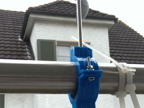Wind Gauge Handrail Clamp