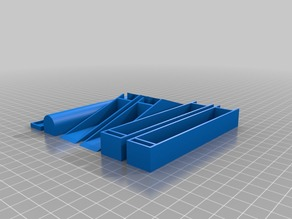 Customized Parametric tabletop spool holder (Narrower)